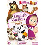 Masha and the bear 19-36 episodes. English version licensed edition 2016 PAL (regionless player required)