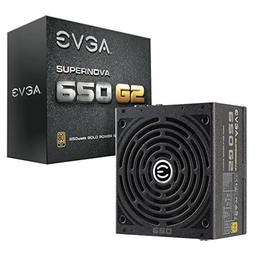 EVGA SuperNOVA G2 PSU 650W, Nero