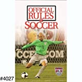 Official Rules Of Soccer Book