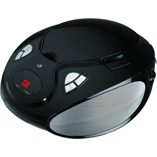 GPX BC111B PORTABLE CD PLAYER WITH AM/FM RADIO