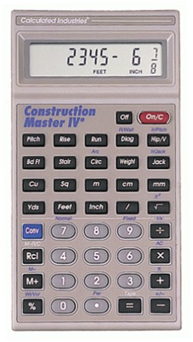 Calculated Industries 4045 Construction Master IV Calculator