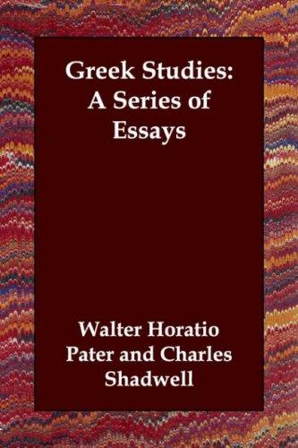 Greek Studies: A Series of Essays