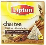 Lipton Pyramid Tea Bags, Spiced Cinna...