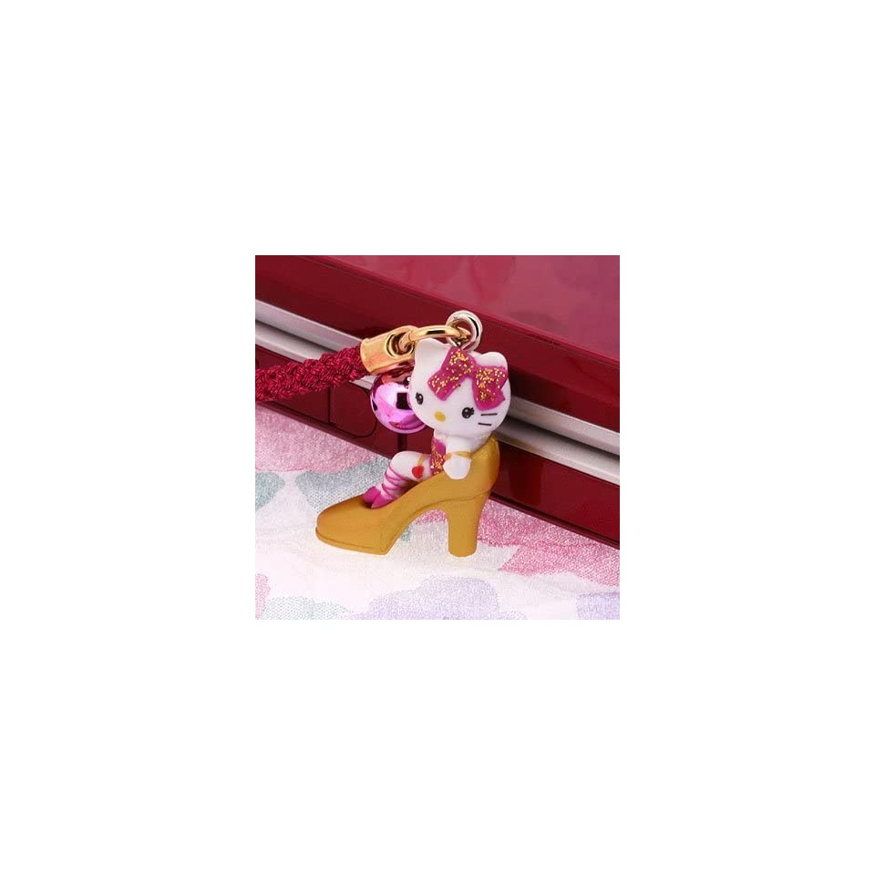 Sanrio Hello Kitty Pinky Sexy Girl Cell Phone Strap   Japanese Import ***Free Domestic Standard Shipping for This Item***