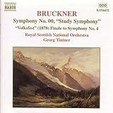 """Bruckner : Symphonie n° 00 """"Symphonie d'études"""""""
