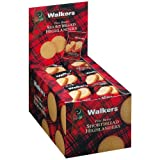 Walkers Shortbread Highlanders, 24 Snack Packs with 40g