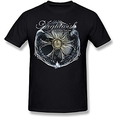 AKERY Men's NIGHTWISH The Crow, The Owl And The Dove T-shirt M