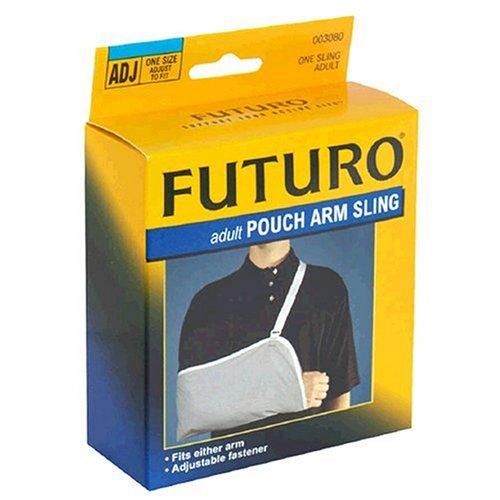 broken arm sling. roken arm sling. :Futuro Adult Pouch Arm Sling,