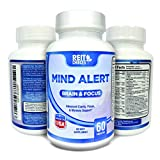 Memory Cognitive Boost Pills Healthy Brain Concentration Supplement Mind Alert Brain Functioning with Physician Approved ingredients ReitChoices for Optimal Clarity, Focus, & Neuronal creativity
