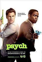 Unframed canvas prit poster Psych TV Movie 24x36inch(60x90cm)