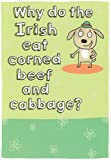 51WPHDpgviL. SL160  St Patricks Day Card Why Do the Irish Eat Corned Beef and Cabbage?
