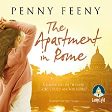 The Apartment in Rome (       UNABRIDGED) by Penny Feeny Narrated by Jilly Bond