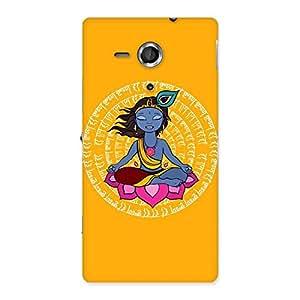 Yog Krishna Back Case Cover for Sony Xperia SP
