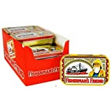 12 x FISHERMAN'S FRIEND Souvenir Tins each with 1 x 40g Pack Original Extra Strong Lozenges