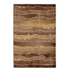 Riva Carpets Cariboo New Zealand Wool Area Rug (Onyx)