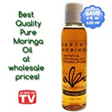 Moringa Oil 120ml 4oz **Special $9.99** 100% All Natural Moringa Oleifera Pure Seed Oil