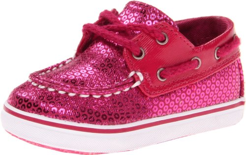 Sperry Top-Sider Bahama Crib Boat Shoe (Infant/Toddler),Hot Pink,4 M Us Toddler front-580384