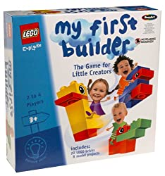Lego Explore My First Builder Game For Preschoolers By Rose Art