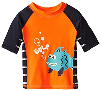 The children 39 s place baby boys infant fish for Baby rash guard shirt