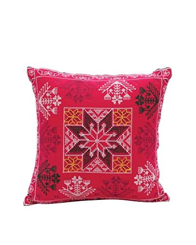 ... Karma Living Pillow Linen, Fuchsia