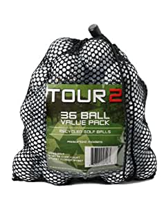 Taylormade Penta Recycled C Golf Balls in Mesh Bag (Pack of 36)