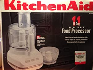 Amazon Com Kitchenaid Kfp600wh Ultra Power 11 Cup Food