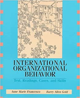 international organisational behaviour International students  organisational behaviour is relevant to our working and personal lives given the likelihood of us participating in different organisations .