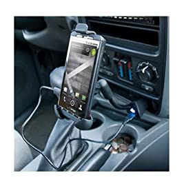Dock Pro Vehicle Holder and Charger for ZTE Source, Majesty, Savvy