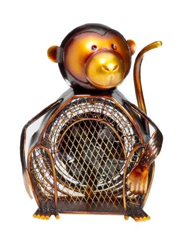 Deco Breeze Figurine Fan, Monkey, 14-Inch Tall By 12-Inch Wide