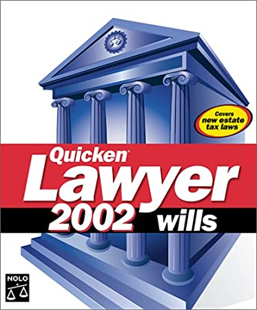 Quicken Lawyer 2002 Wills