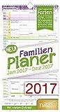 FamilienPlaner 2017 Wand-Kalender, Chäff-Timer, 5 Spalten,...
