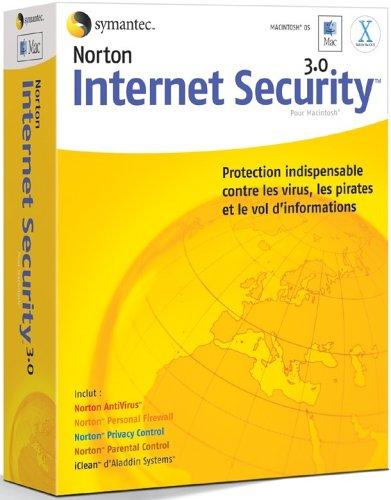 Norton Internet Security For Macintosh - (Version 3.0 ) - Ensemble De Mise À Niveau De Version - 1 Utilisateur - Cd - M