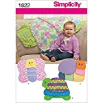 Simplicity 1822 Rag Quilts Sewing Pattern, Size OS (One Size)