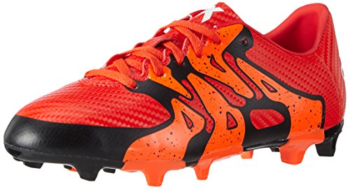 adidas Performance X15.3 FG/AG, Jungen Fußballschuhe, Rot (Bold Orange/FTWR White/Solar Orange), 37 1/3 EU (4.5 Kinder UK)