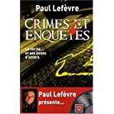 Crimes et enqu�tes (1DVD)par Paul Lef�vre