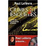 Crimes et enqu�tes (1DVD)par Paul Lef�vre
