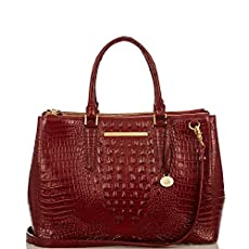 Lincoln Satchel<br>Carmine Red Melbourne