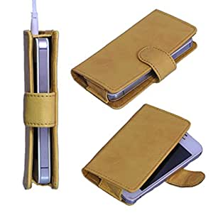 DSR Pu Leather case cover for Spice Stellar 362