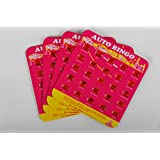 Pink Auto Backseat Bingo Pack of 4 Bingo Cards (Great For: Family Vactions, Car Rides, and Road Trips!) Model: