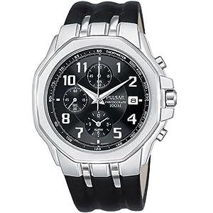 Pulsar Men's PF3425 Alarm Chronograph Watch