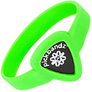 Pickbandz Bracelet Groovy Green Small - Guitar Pick Holder Bracelet