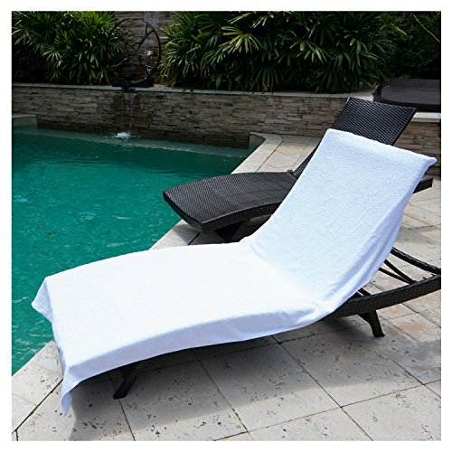"8% OFF Winter Park Towel Co Chaise Lounge Chair Cover Towel 40"" x 90&"