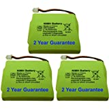 3 x New BuyaBattery UK Branded Replacement Batteries for BT Verve 450 and 410 Cordless Phone 5M702BMX 2.4V 600mAh NiMH Ni-MH (Quality Batteries No White Labels)