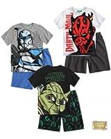 Star Wars-The Clone Wars Shorty-Pyjama blau