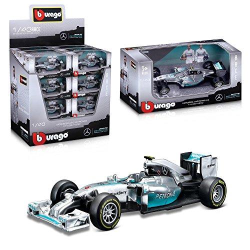 Bburago-15638120-Race-Mercedes-AMG-Petronas-F1-W05-143-2014-Modellautos