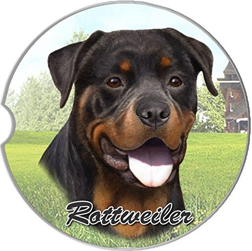 RottweilerCar Cup Holder CoasterFor Use in Your Automobile