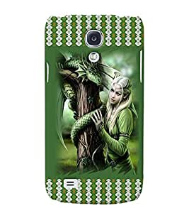 Fuson 3D Printed Girly Designer back case cover for Samsung Galaxy S4 Mini - D4142