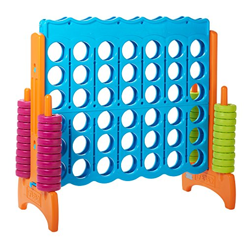 ECR4Kids Jumbo 4-To-Score Oversized Game - 1