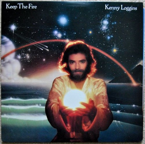 Original album cover of Keep the Fire by Kenny Loggins
