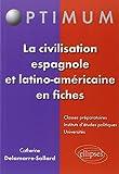 La Civilasation Espagnole et Latino-Américaine en Fiches